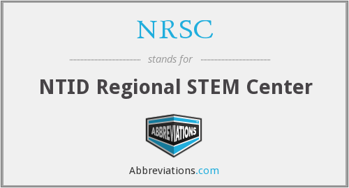 NRSC - NTID Regional STEM Center