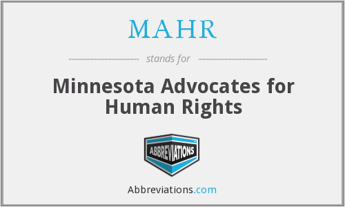 MAHR - Minnesota Advocates for Human Rights