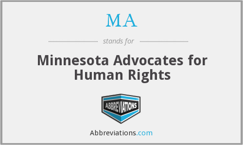MA - Minnesota Advocates for Human Rights