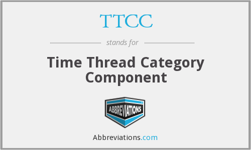 TTCC - Time Thread Category Component