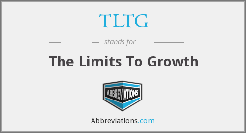 TLTG - The Limits To Growth