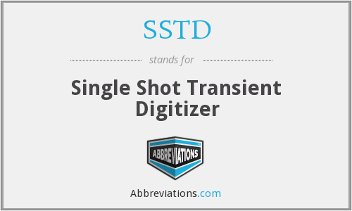 SSTD - Single Shot Transient Digitizer