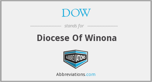 DOW - Diocese Of Winona