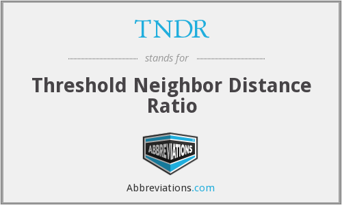 What does TNDR stand for?