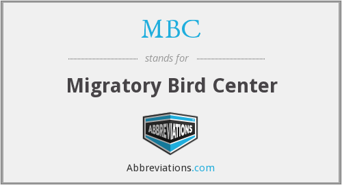 MBC - Migratory Bird Center