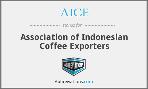 AICE - Association of Indonesian Coffee Exporters