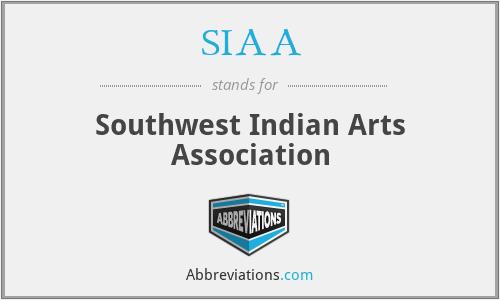 SIAA - Southwest Indian Arts Association