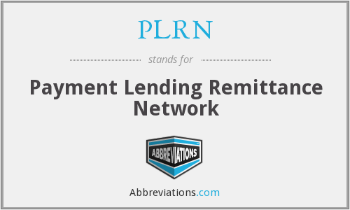 What does PLRN stand for?