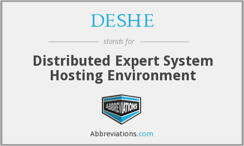 What does DESHE stand for?