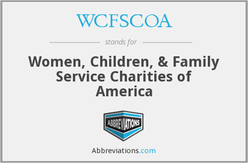 What does WCFSCOA stand for?