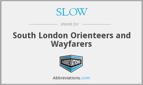 SLOW - South London Orienteers and Wayfarers