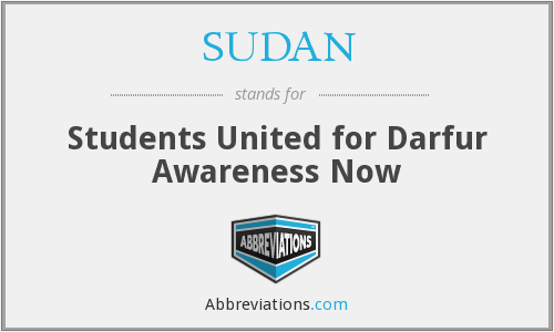 What does SUDAN stand for?