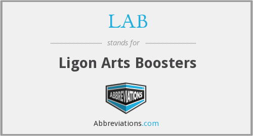 LAB - Ligon Arts Boosters