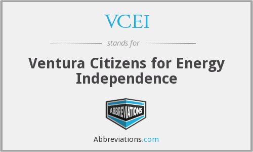VCEI - Ventura Citizens for Energy Independence