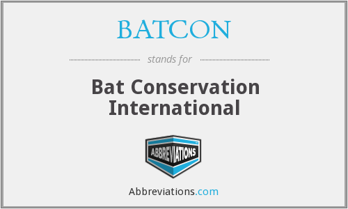 BATCON - Bat Conservation International