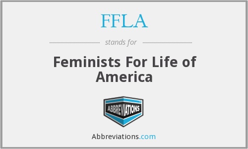 FFLA - Feminists For Life of America