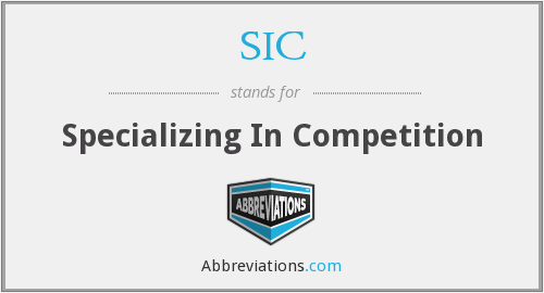 What does specializing stand for?
