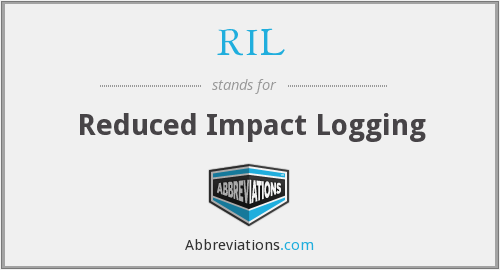 RIL - Reduced Impact Logging