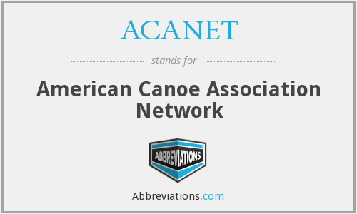 What does ACANET stand for?