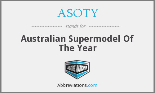 What does ASOTY stand for?