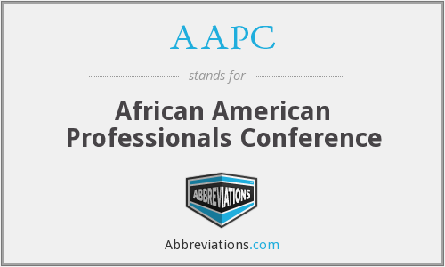 AAPC - African American Professionals Conference