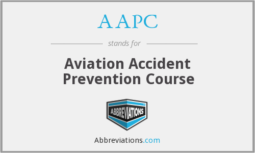 AAPC - Aviation Accident Prevention Course