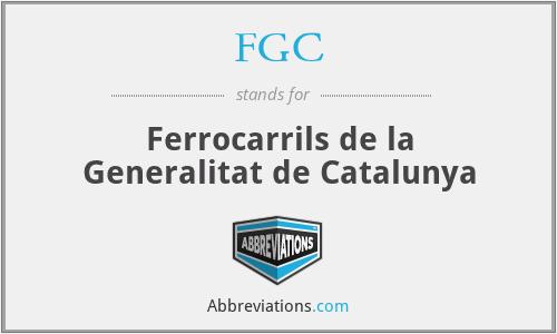 FGC - Ferrocarrils de la Generalitat de Catalunya
