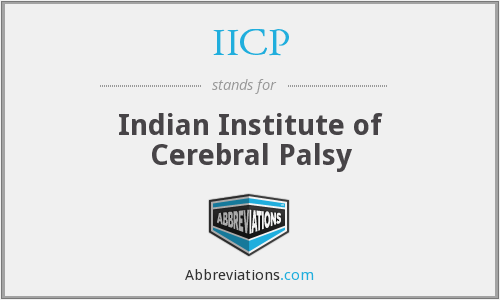 IICP - Indian Institute of Cerebral Palsy