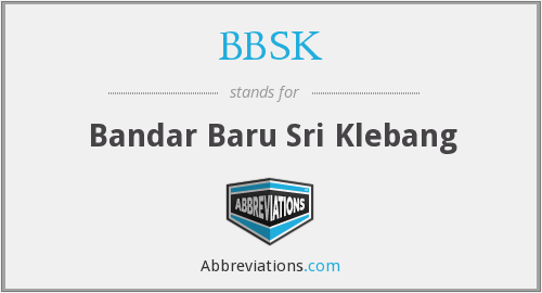 What does BBSK stand for?