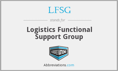 What does LFSG stand for?