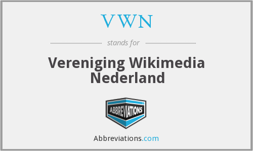 VWN - Vereniging Wikimedia Nederland