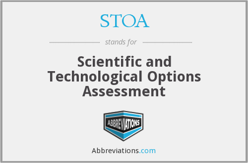 What does STOA stand for?