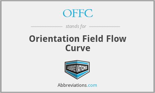 OFFC - Orientation Field Flow Curve