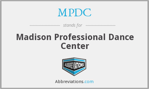MPDC - Madison Professional Dance Center