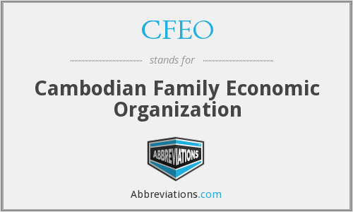 What does CFEO stand for?