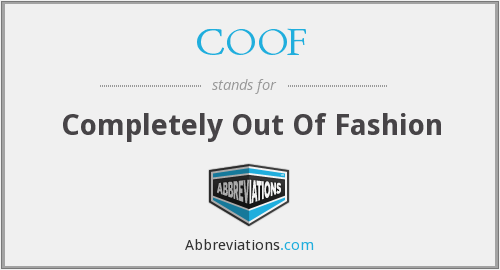 What does COOF stand for?