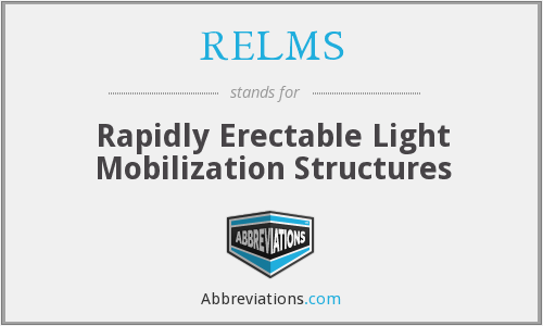 What does RELMS stand for?