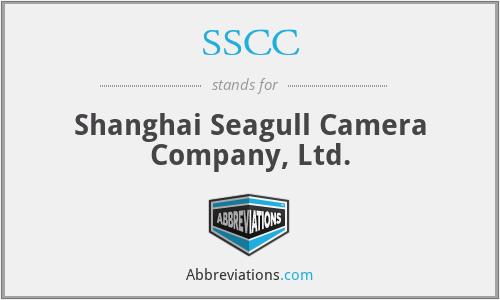 SSCC - Shanghai Seagull Camera Company, Ltd.