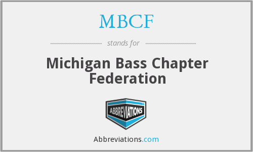 MBCF - Michigan Bass Chapter Federation