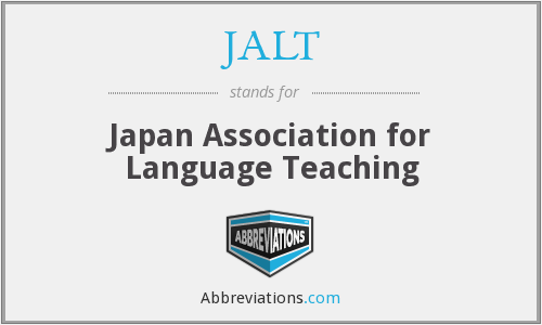 JALT - Japan Association for Language Teaching