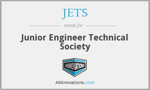 JETS - Junior Engineer Technical Society