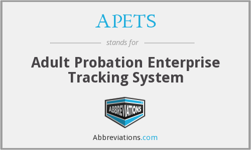 What does APETS stand for?