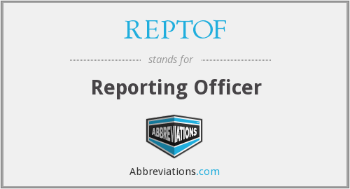 What does REPTOF stand for?