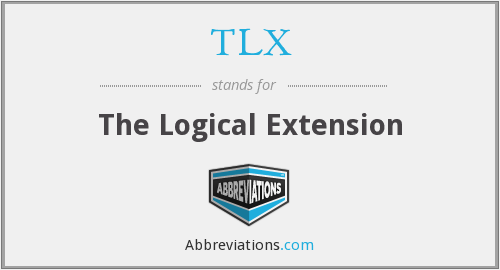 TLX - The Logical Extension