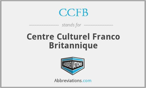 CCFB - Centre Culturel Franco Britannique