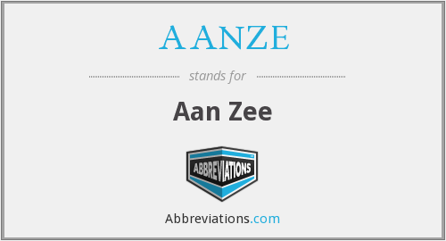 What does AANZE stand for?