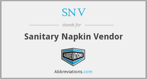 What does napkin stand for?