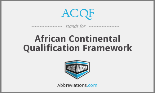 What does ACQF stand for?