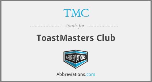 TMC - ToastMasters Club