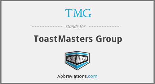 TMG - ToastMasters Group